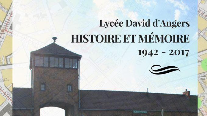 Destins d'élèves juifs du Lycée David d'Angers pendant la Seconde Guerre mondiale